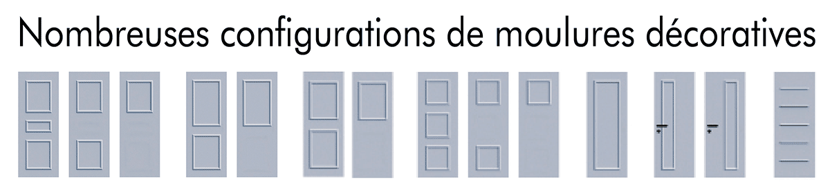 moulures décoratives